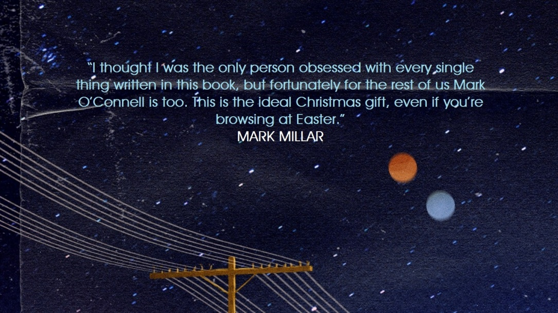 WATCHING SKIES - Mark Millar quote